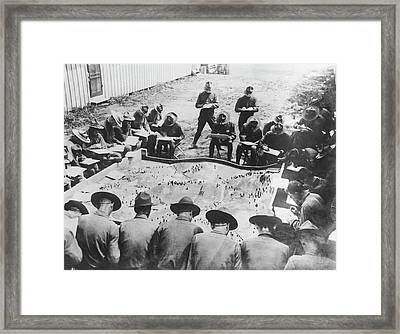 Learning Aeroplane Observation Framed Print by Underwood Archives
