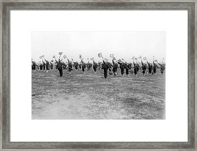Learning Semaphore Signalling Framed Print by Underwood Archives