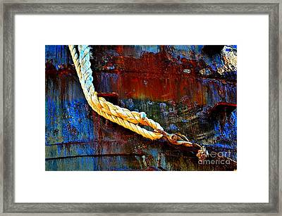 Learning The Ropes Framed Print by Lauren Leigh Hunter Fine Art Photography