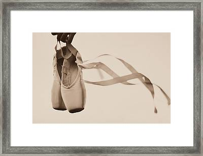 Learning To Fly Framed Print by Laura Fasulo