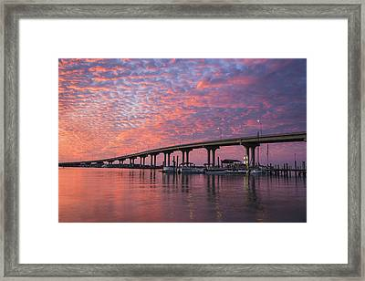 Learning To Kneel Framed Print by Mike Lang
