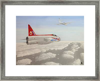 Learning To Refuel Framed Print by Jonathan Laverick
