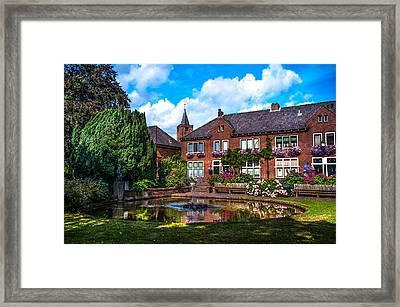 Leasure Day In Naarden. Netherlands Framed Print