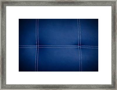 Leather Texture Framed Print by Aged Pixel