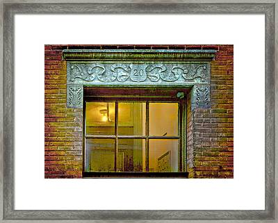 Leave The Light On Framed Print by Nikolyn McDonald
