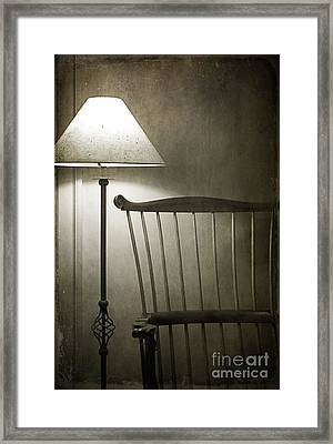 Leave The Light On Framed Print by Terry Rowe