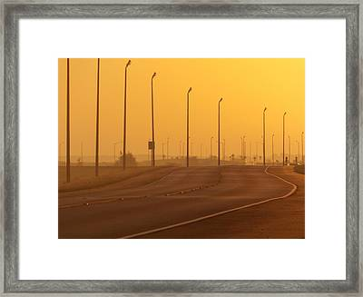 Leave Well Enough Alone Framed Print by John Glass