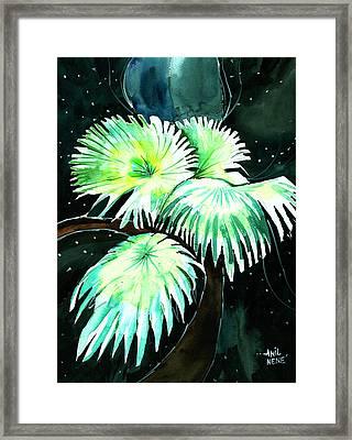 Leaves Framed Print by Anil Nene