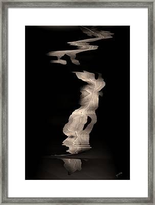 Leaves    Framed Print by Gerlinde Keating - Galleria GK Keating Associates Inc