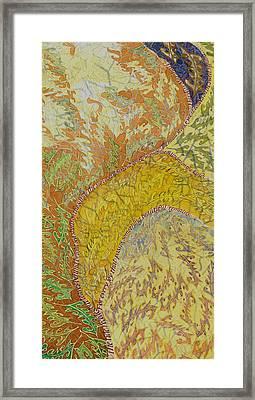 Leaves Leave Framed Print
