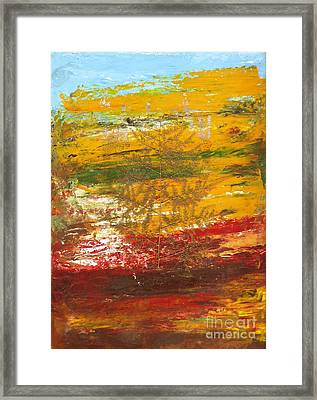 Leaves Of Color Framed Print
