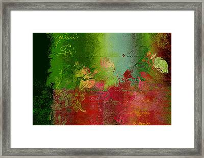 Leaves Rhapsody - 052209043 Framed Print