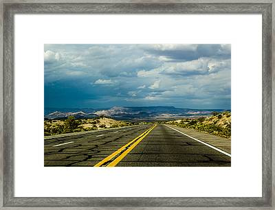 Framed Print featuring the photograph Leaving Arizona by April Reppucci