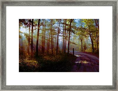 Framed Print featuring the photograph Leaving... by Daniel Thompson
