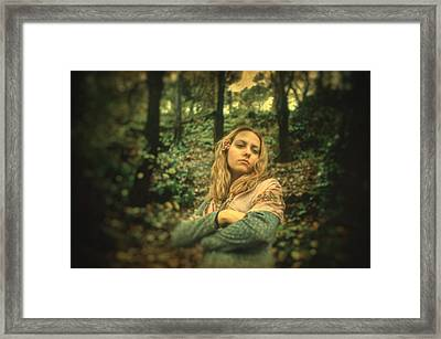 Leaving Eden Framed Print by Taylan Apukovska