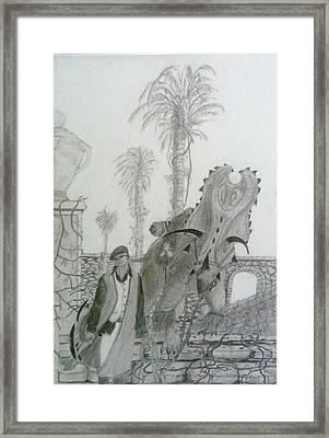 Leaving Gamorra Framed Print by George Harrison