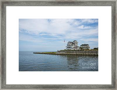 Leaving Hatteras Framed Print by Kay Pickens