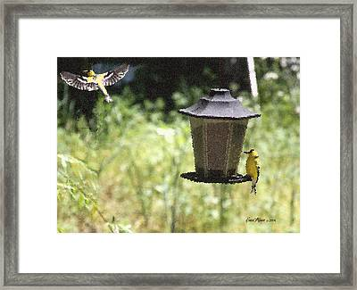Leaving Home Framed Print by EricaMaxine  Price