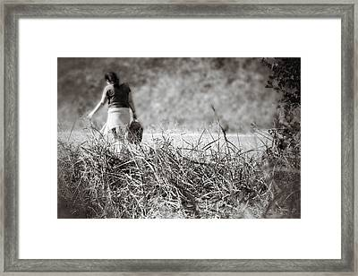 Framed Print featuring the photograph Leaving by Jason Politte