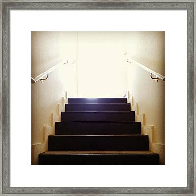 Leaving Now Framed Print