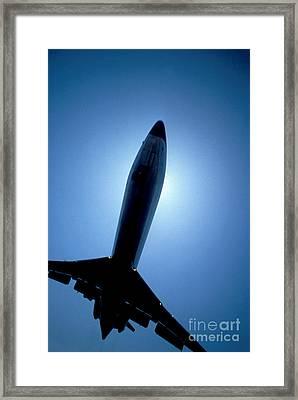 Leaving On A Jet Plane Framed Print