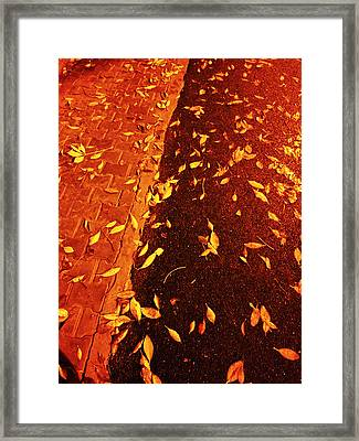 Leaving Past Framed Print by Atinderpal Singh
