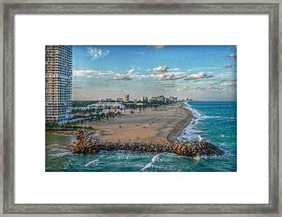 Leaving Port Everglades Framed Print