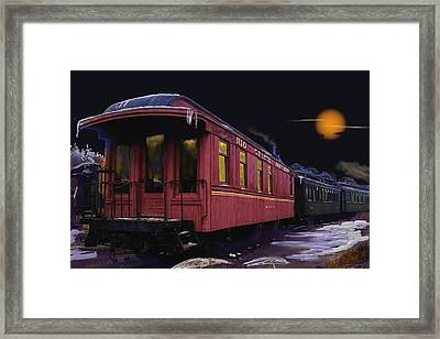 Leaving Ridgway Framed Print