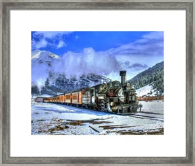 Leaving Silverton 01 Framed Print