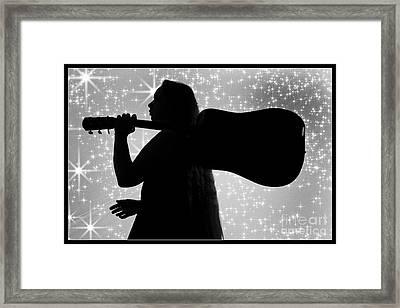 Leaving The Stage 1005.01 Framed Print by M K  Miller