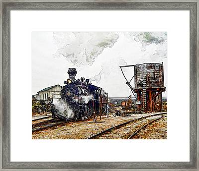 Leaving The Yard Framed Print