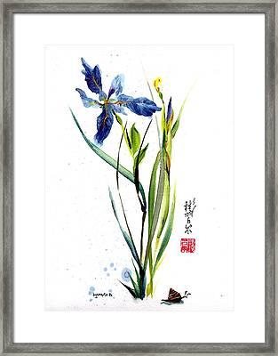 Leaving Zen Framed Print