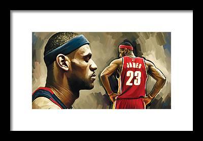 Miami Heat Framed Prints