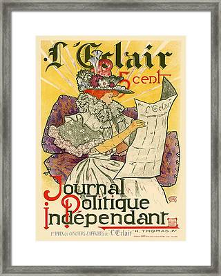 L'eclair Framed Print by Gianfranco Weiss