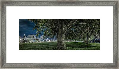 Framed Print featuring the photograph Leclaire Park by Ray Congrove