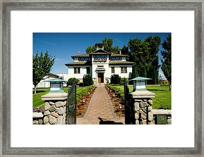 L'ecole 41 Winery, Walla Walla Framed Print