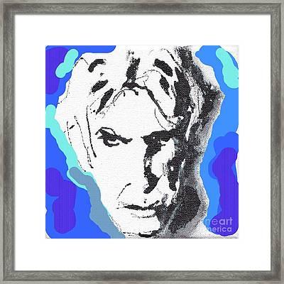 Lectric Blue Framed Print by Rodney van den Beemd