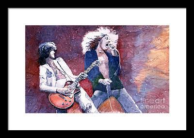 Led Zeppelin Framed Prints
