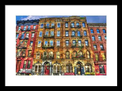 East Village Framed Prints