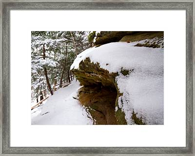 Ledge Framed Print by Tim Fitzwater