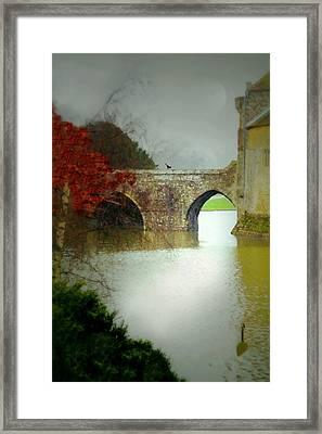 Leeds Castle Framed Print by Diana Angstadt