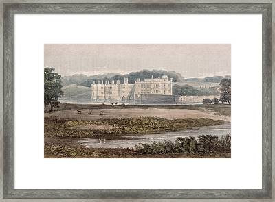 Leeds Castle, From R. Ackermanns Framed Print by William Crouch