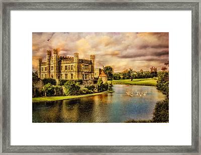 Leeds Castle Landscape Framed Print by Chris Lord
