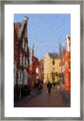Leer Altstadtimpressionen Framed Print by Steve K