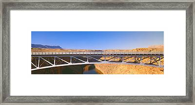 Lees Ferry In Marble Canyon, Navajo Framed Print by Panoramic Images