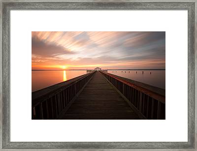 Framed Print featuring the photograph Leesylvania State Park by Bernard Chen