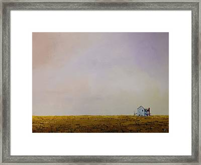 Left Alone Framed Print
