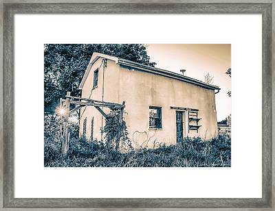 Framed Print featuring the photograph Left Behind by Michaela Preston