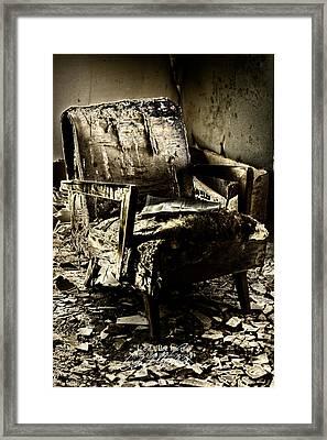 Left Behind-series 01 Framed Print by David Allen Pierson