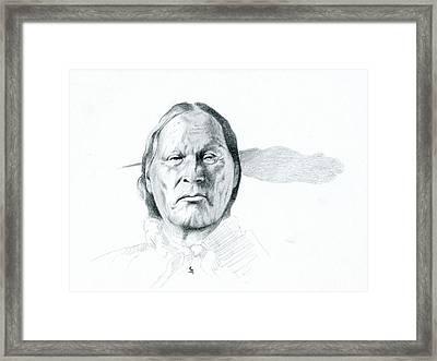 Left Hand Framed Print by Robert Martinez